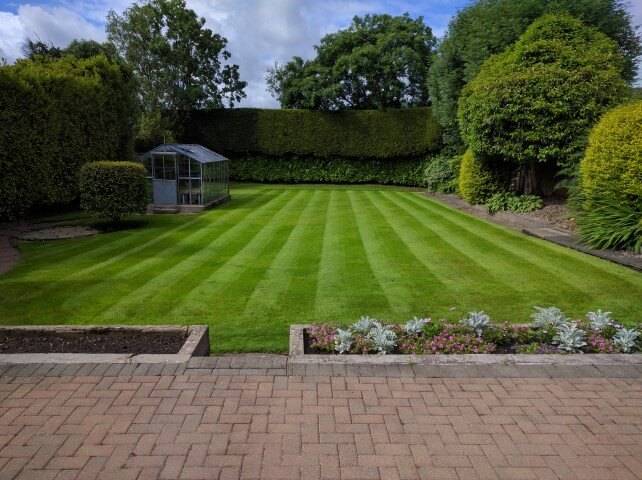 jordanstown lawn the result of good lawn care
