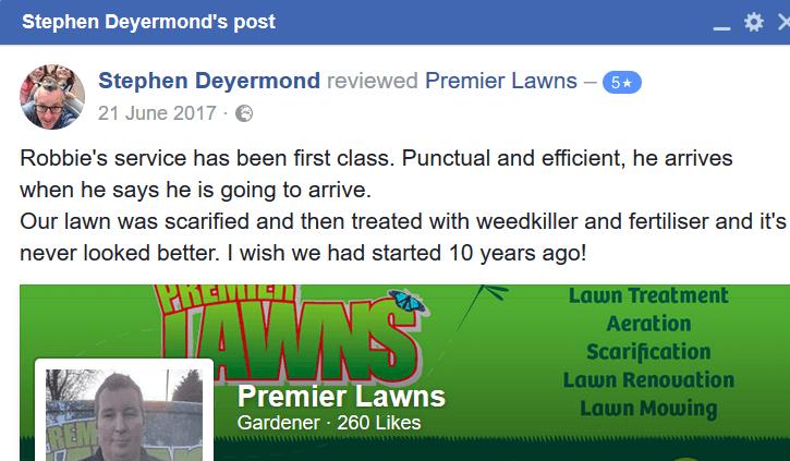 Premier lawns review