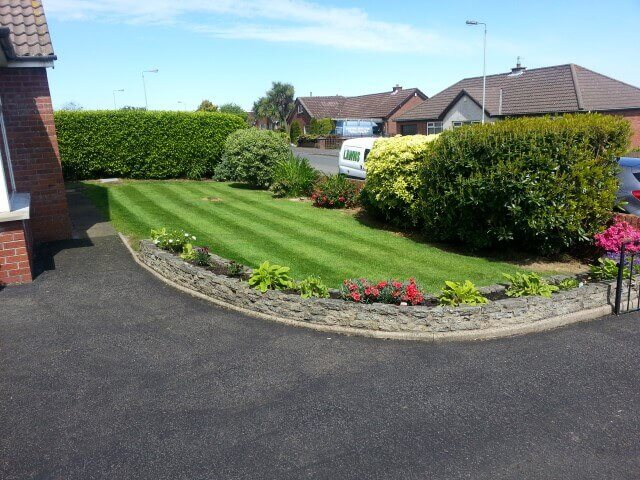 beautiful lawn in newtownabbey
